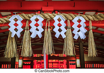 Japan temple - beautiful details of the temples in Japan