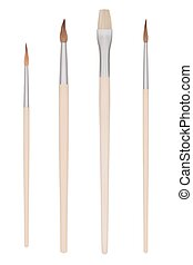 Set of Painting brushes