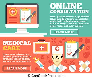 Online consultation, medical care