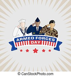 Armed Forces Day background,united sates,vector llustration