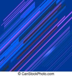 Blue Line Background