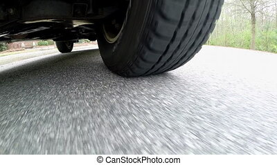 Front Tire Moves on Street