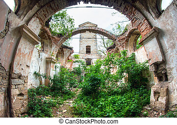 Ruins of the Church of St Wenceslas - Image of the ruins of...