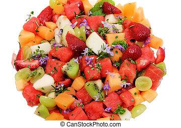 Fruit Salad - Close Up of Fruit Salad