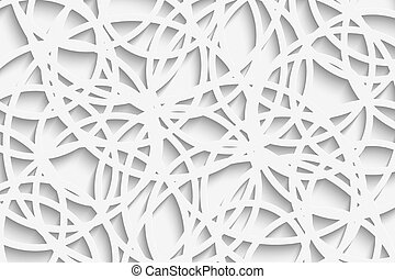 Circles - Vector Abstract Background Overlapping circles....