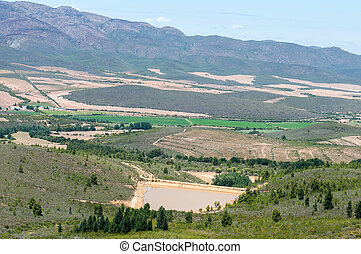 View from the Swartberg Pass to the East - View from the...