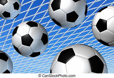 futbol, deporte, concepto,