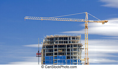 Highrise construction - A highrise under construction