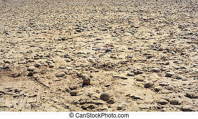 Ticino riverbed - View of the Ticino riverbed in Italy