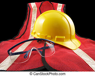 Safety Equipment Trio - Trio of personal safety equipment....