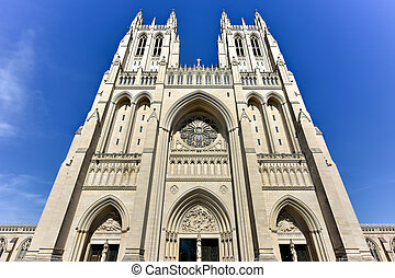 National Cathedral, Washington DC, United States - The...