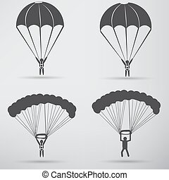 Parachute Icon design