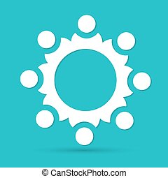 Hands Deal Design Icon