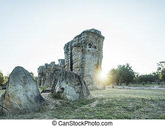 stone - Stonehenge of Thailand