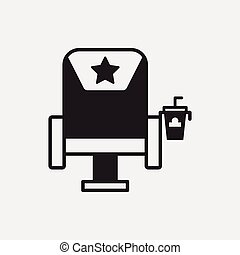 theater chairs icon