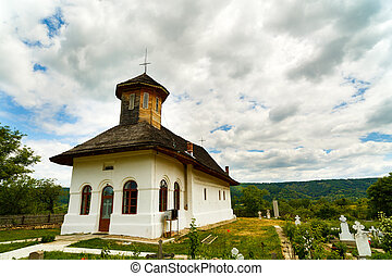 Old country church in romania