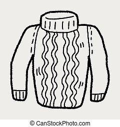 sweater doodle