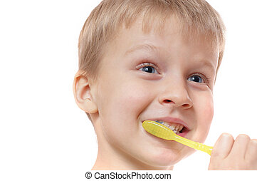children teeth hygiene