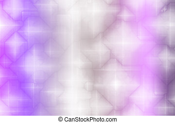Deep Purple Magical Fantasy Abstract Background