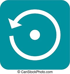Backup, Reset - Reset, refresh, arrow icon vector image.Can...