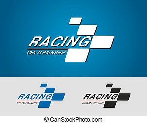 Racing Championship - Logo for the car and motorcycle racing...