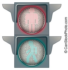 Traffic lights - Stop and Go on the Traffic lights
