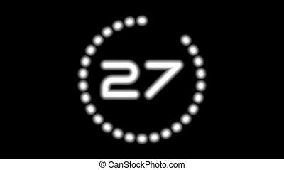 CountdownA-03-ka - Real time countdown full HD (1920x1080...