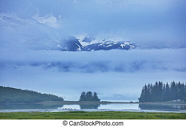 Alaska landscapes - Mountain meadow in Alaska
