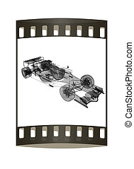 Formula One Mesh. The film strip