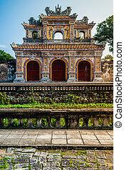 Citadel in Hue - Beautiful site of Citadel in Hue, Vietnam...