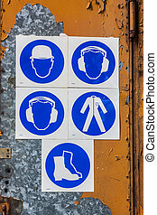 Regulatory signs - Various signs warrant required in the...