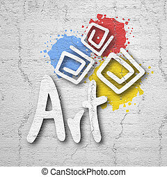 Art color - Creative design of Art color
