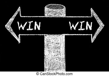 Opposite arrows with Win-Win Solution