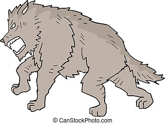 wolf illustration - Creative design of wolf illustration