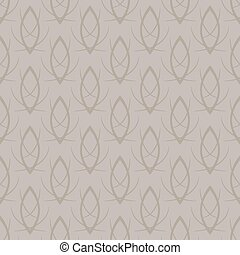 Vector seamless elegant gold pattern background - Vector...