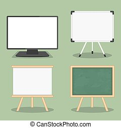 Objects for Presentation - Set of objects for presentation -...