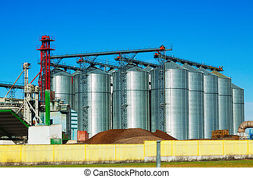 Huge warehouse facilities for agricultural sector
