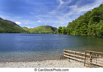 Buttermere Lake District - Buttermere in the Lake District...