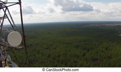 Chernobyl Duga Aerial - Duga - Soviet over-the-horizon radar...
