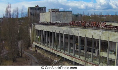Chernobyl (Aerial) - The Palace of Culture...