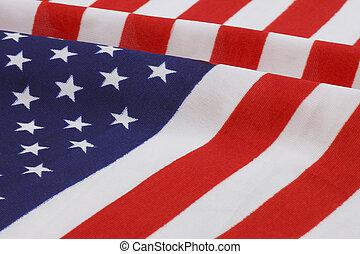 United States flag - close up of United States flag
