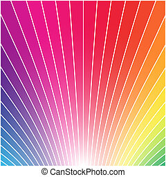 Rainbow styled background - Abstract multicolor rainbow...