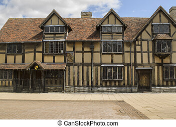 Stratford Upon Avon, England. May 15th,2015 The Birthplace...