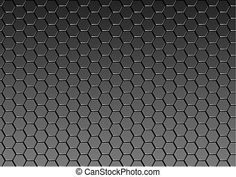 Dark Metal Texture Background - Metallic Pattern, Vector