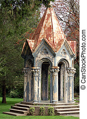 Cupola Gazebo - A top of a church cut off and made as a...