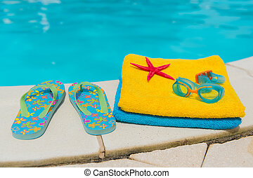Swimming pool - Summer vacation at the swimming pool
