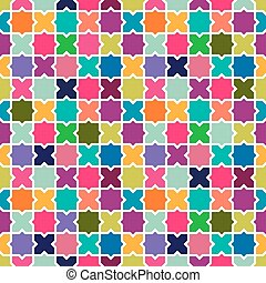 Abstract colorful mosaic pattern background