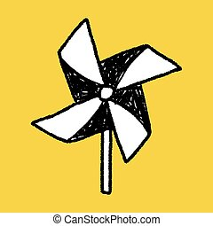windmill toy doodle