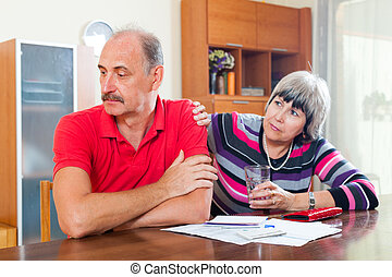 Financial problems in family - Financial problems in the...