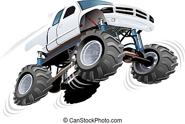 Monster Truck Available EPS-10 separated by groups and...